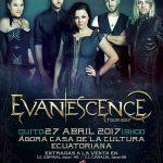 Evanescence Tour 2017 en Ecuador