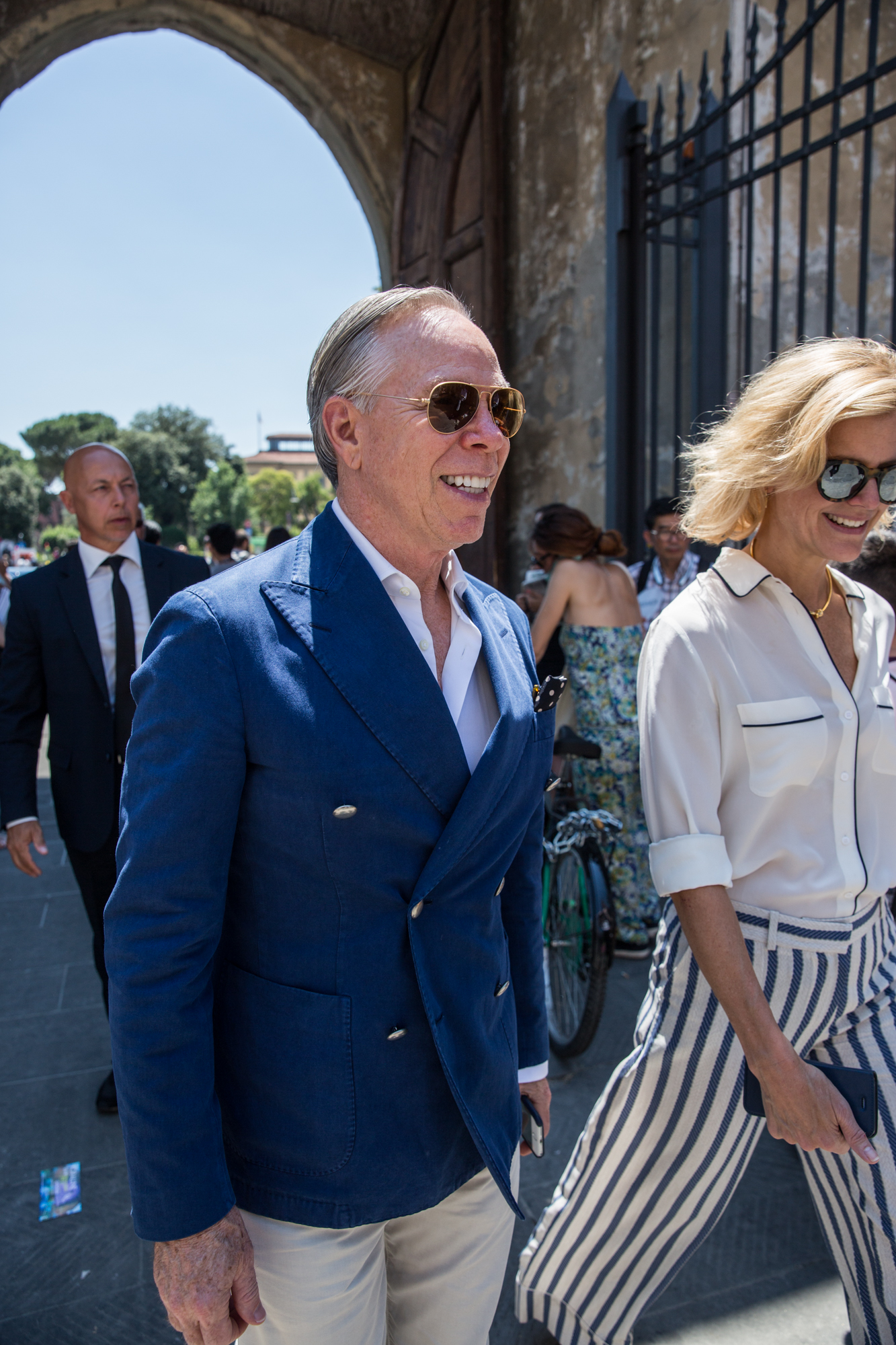 Tommy Hilfiger Arriving Pitti SS18
