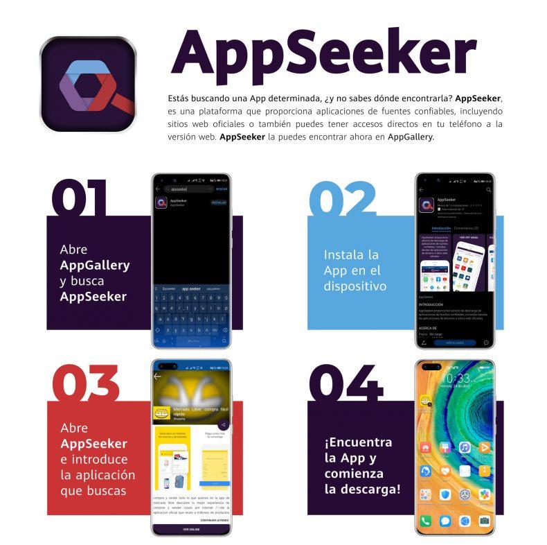 Las aplicaciones más famosas para hacer compras online las encuentras en AppSeeker