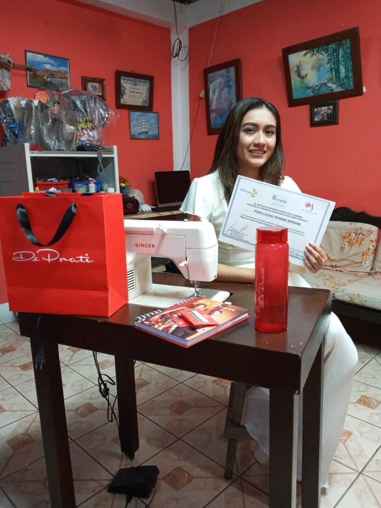 Programa Mujeres Confeccionistas Emprendedoras suma 584 beneficiarias