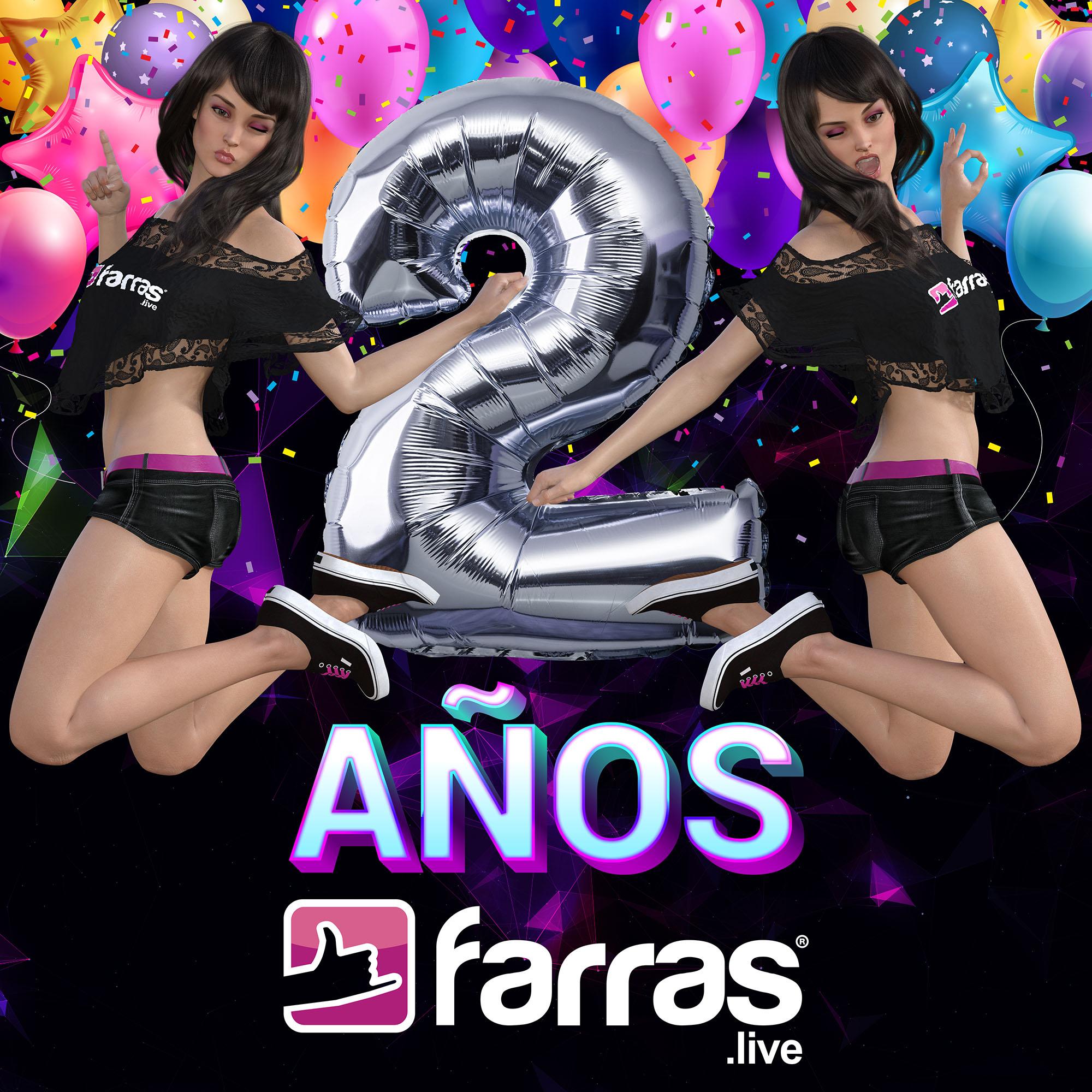 Farras.live ►🌐📱💻🔊🎶🎵✨ cumple su segundo año de emprendimiento.