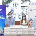 SIMED dona dos mil pruebas de diagnóstico COVID a la ATM de Guayaquil